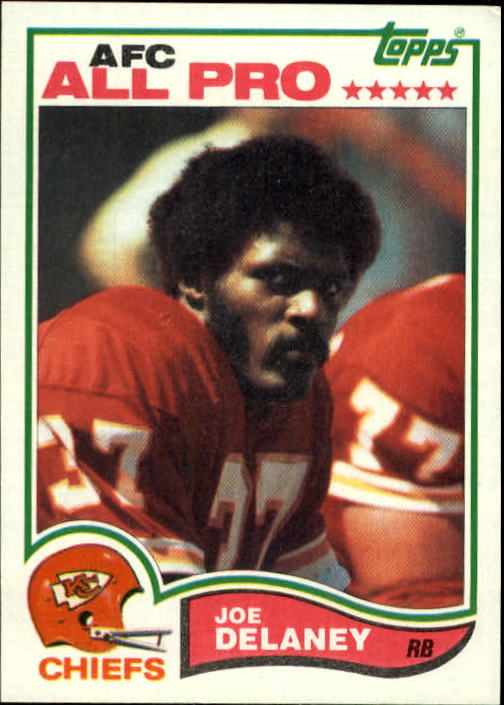 1982 Topps #112 Joe Delaney AP  RC
