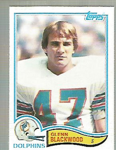 1982 Topps #127 Glenn Blackwood RC