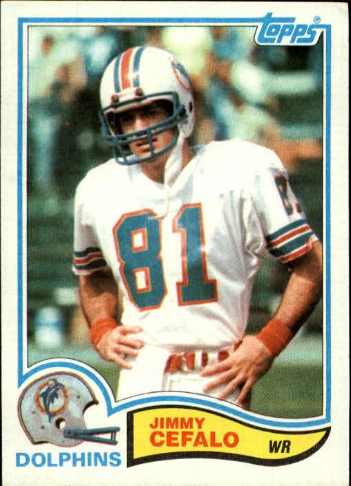 1982 Topps #128 Jimmy Cefalo