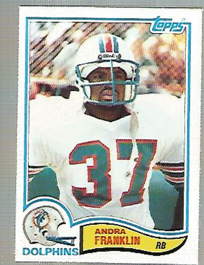 1982 Topps #130 Andra Franklin RC