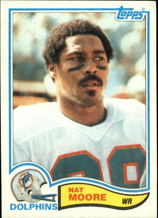 1982 Topps #132 Nat Moore