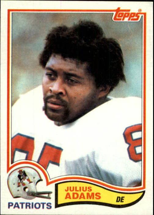 1982 Topps #142 Julius Adams