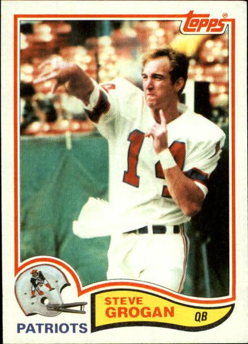 1982 Topps #149 Steve Grogan