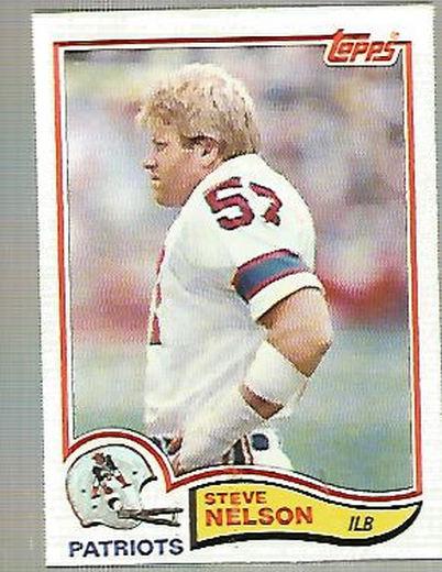 1982 Topps #158 Steve Nelson