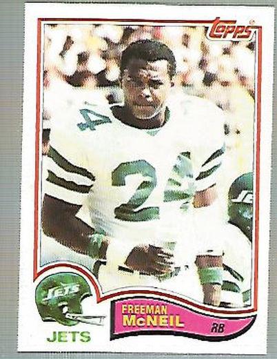 1982 Topps #176 Freeman McNeil RC