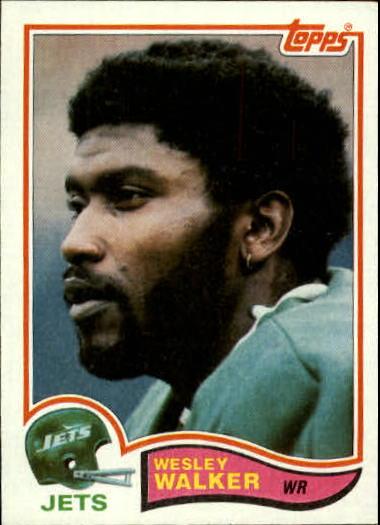 1982 Topps #183 Wesley Walker