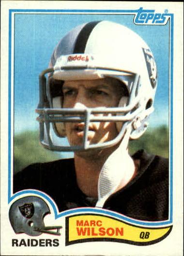 1982 Topps #201 Marc Wilson RC
