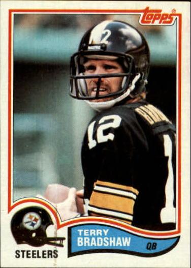 1982 Topps #204 Terry Bradshaw