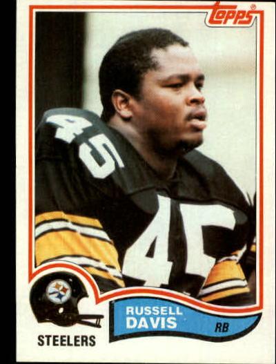 1982 Topps #208 Russell Davis RC