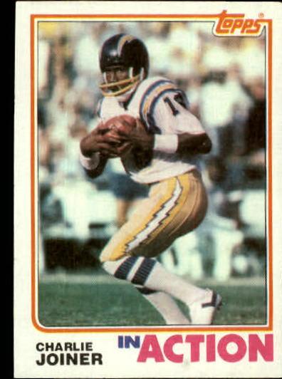 1982 Topps #234 Charlie Joiner IA