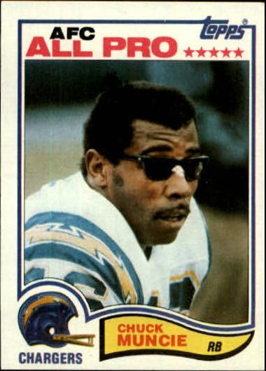1982 Topps #236 Chuck Muncie