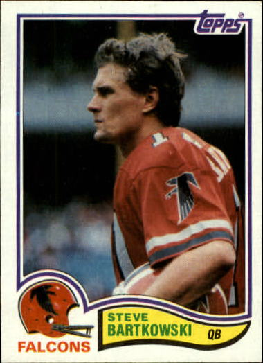 1982 Topps #274 Steve Bartkowski