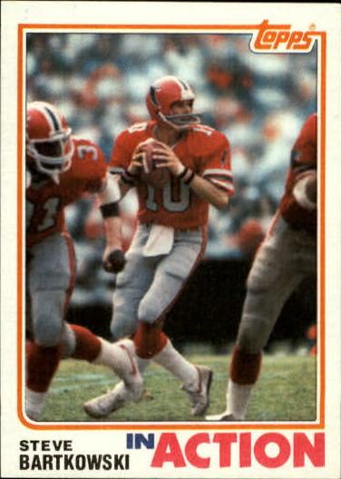 1982 Topps #275 Steve Bartkowski IA