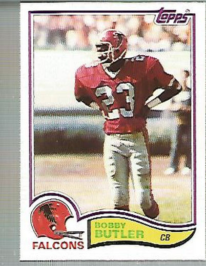 1982 Topps #276 Bobby Butler RC
