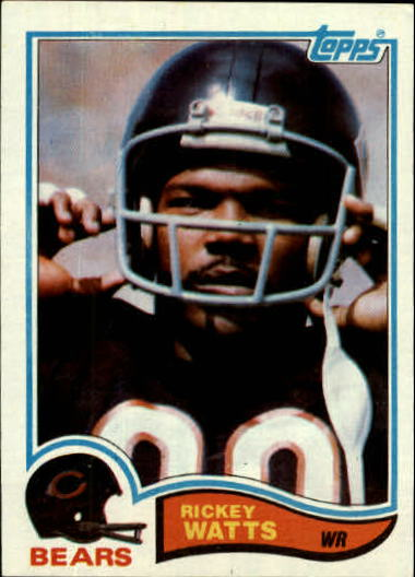 1982 Topps #306 Rickey Watts