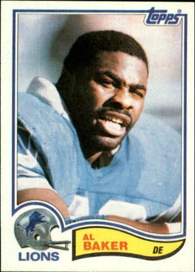 1982 Topps #335 Al(Bubba) Baker