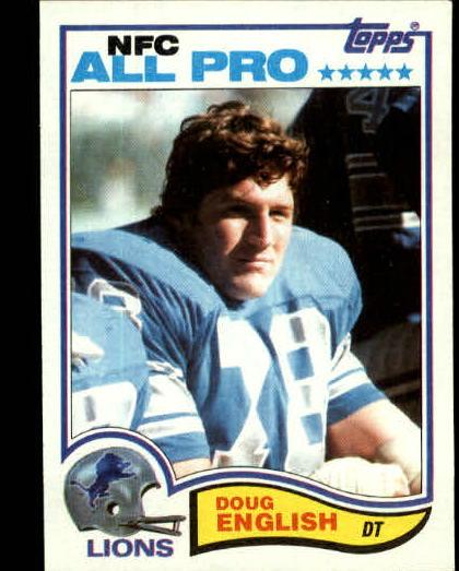 1982 Topps #337 Doug English
