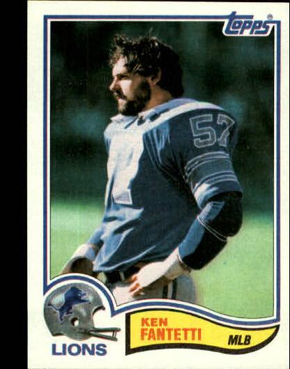 1982 Topps #338 Ken Fantetti