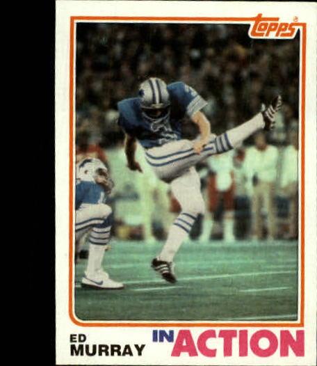 1982 Topps #344 Ed Murray IA