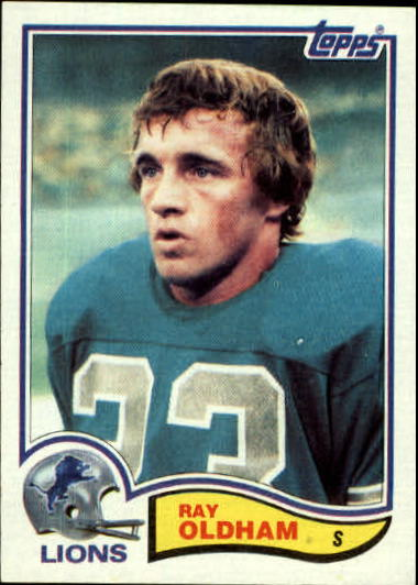 1982 Topps #345 Ray Oldham