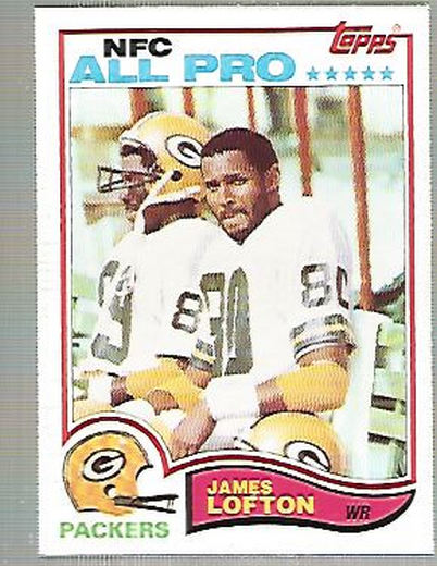 1982 Topps #364 James Lofton AP