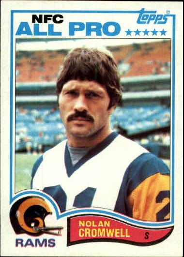 1982 Topps #371 Nolan Cromwell AP