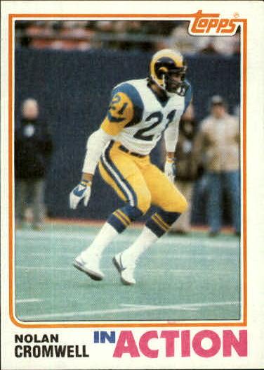 1982 Topps #372 Nolan Cromwell IA