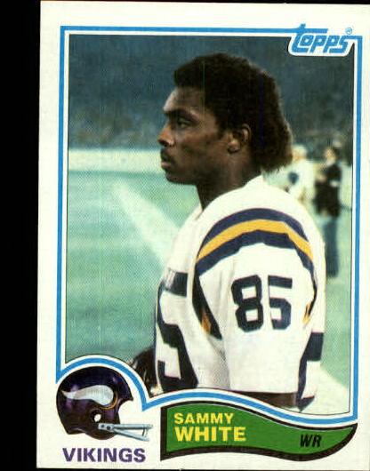 1982 Topps #400 Sammie White