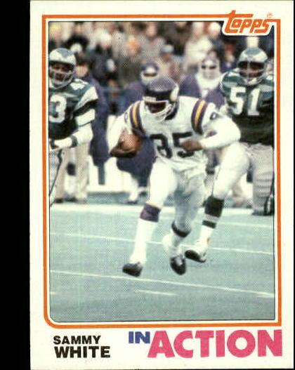 1982 Topps #401 Sammie White IA