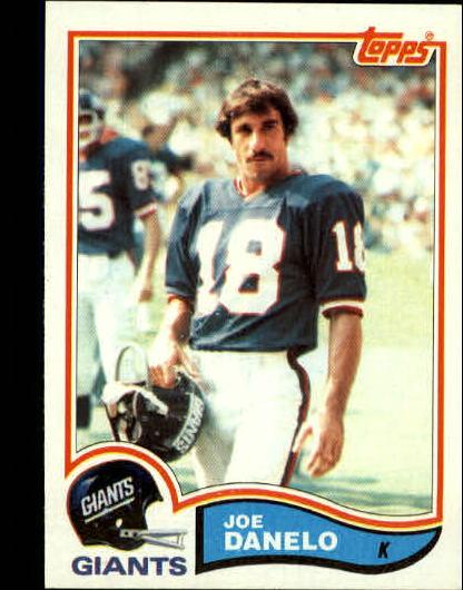 1982 Topps #420 Joe Danelo