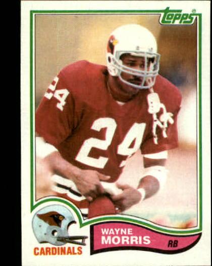 1982 Topps #473 Wayne Morris