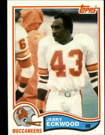 1982 Topps #498 Jerry Eckwood