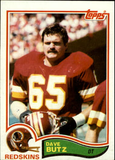1982 Topps #511 Dave Butz