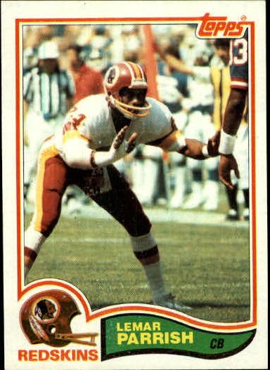 1982 Topps #519 Lemar Parrish