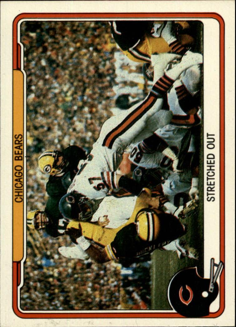 1982 Fleer Team Action #8 Chicago Bears