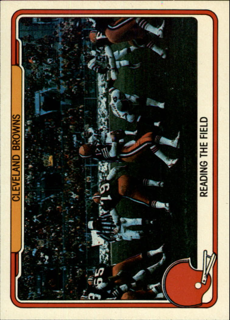 1982 Fleer Team Action #11 Cleveland Browns