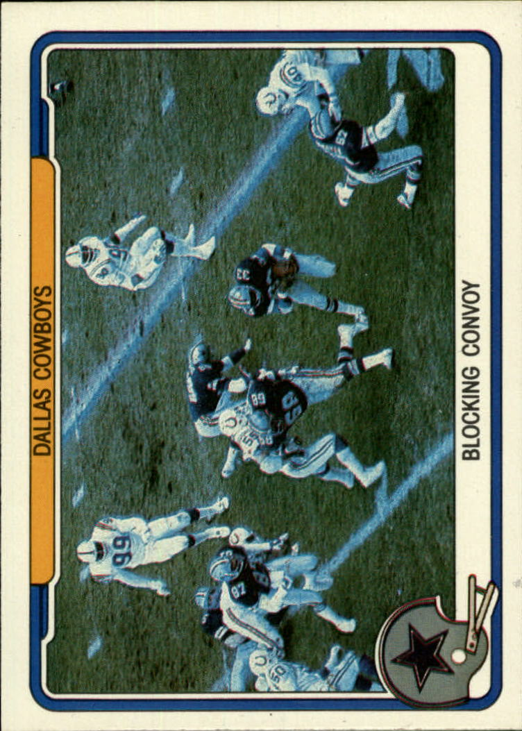 1982 Fleer Team Action #13 Dallas Cowboys