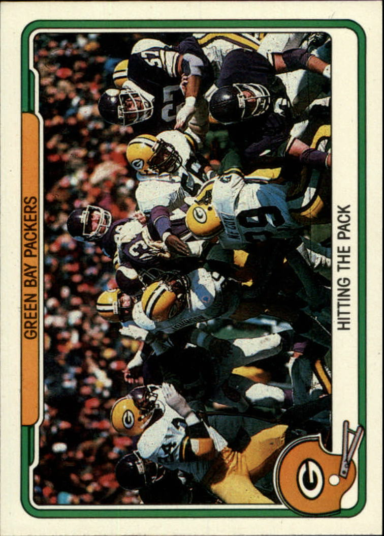 1982 Fleer Team Action #20 Green Bay Packers