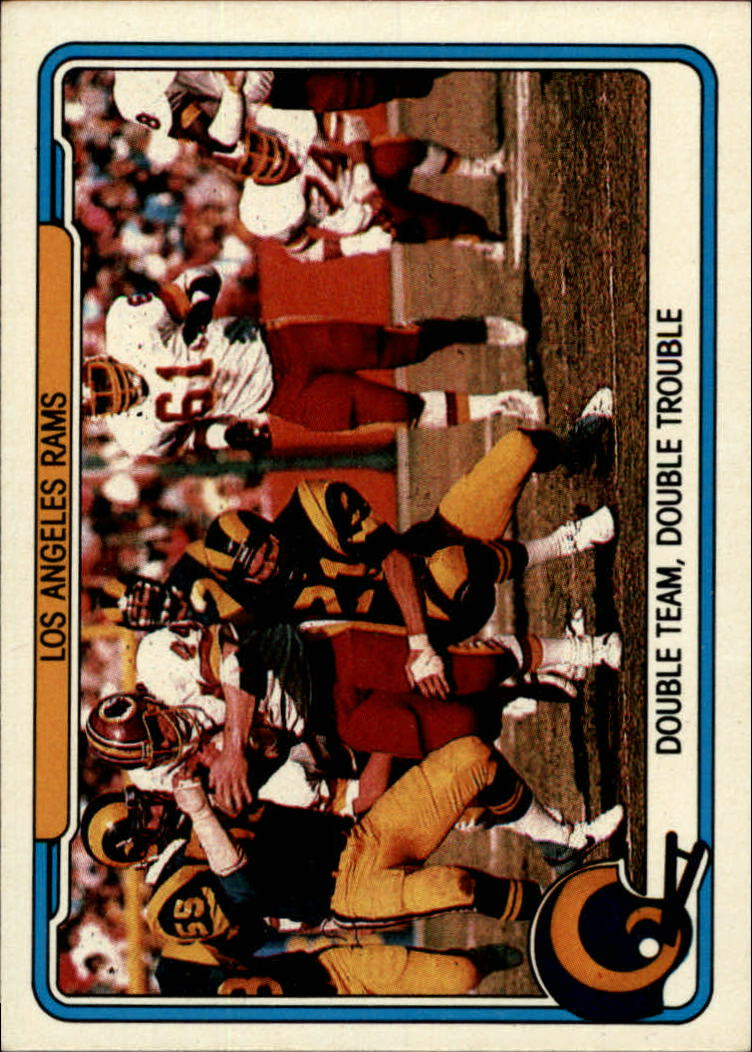 1982 Fleer Team Action #26 Los Angeles Rams
