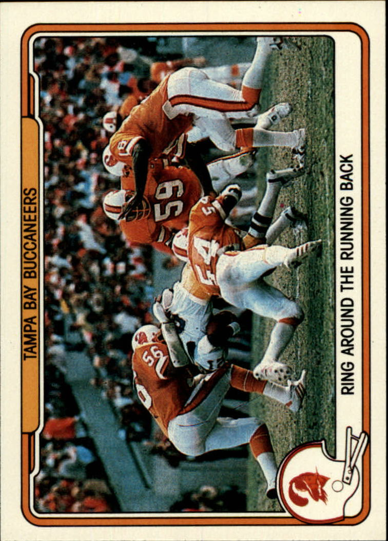 1982 Fleer Team Action #54 Tampa Bay Buccaneers