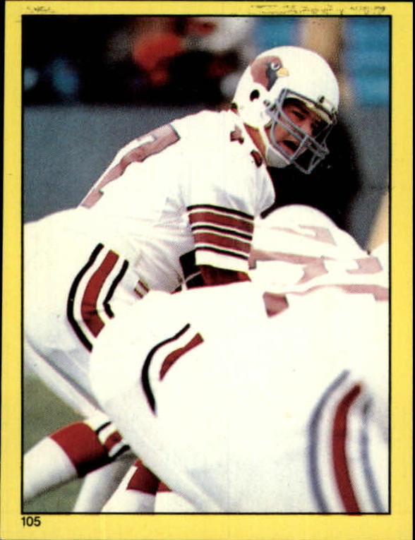 1982 Topps Stickers #105 Jim Hart