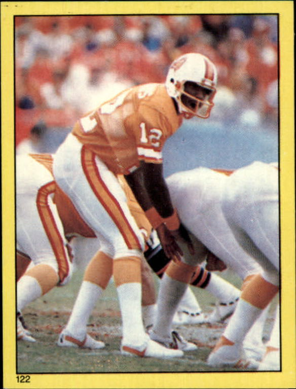1982 Topps Stickers #122 Doug Williams