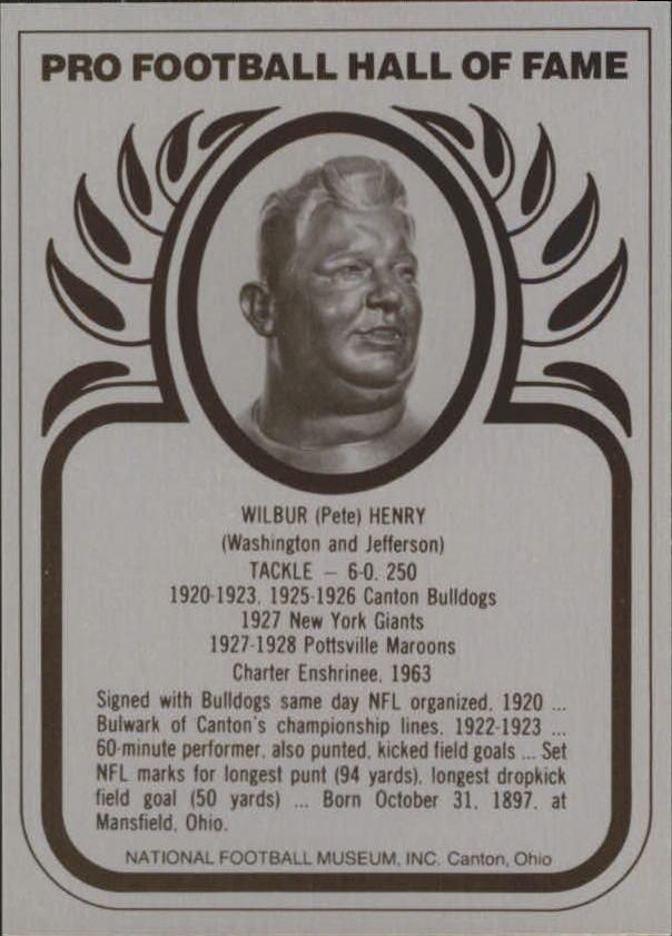 1982-2013 Hall of Fame Metallics #18 Fats Henry