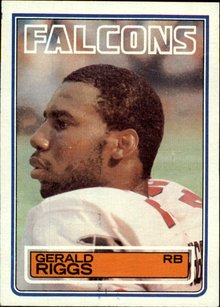 1983 Topps #25 Gerald Riggs DP RC