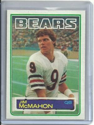 1983 Topps #33 Jim McMahon RC