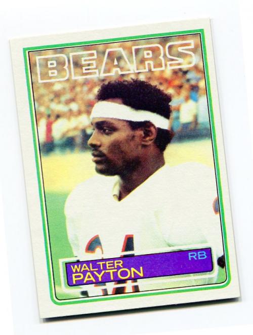 1983 Topps #36 Walter Payton