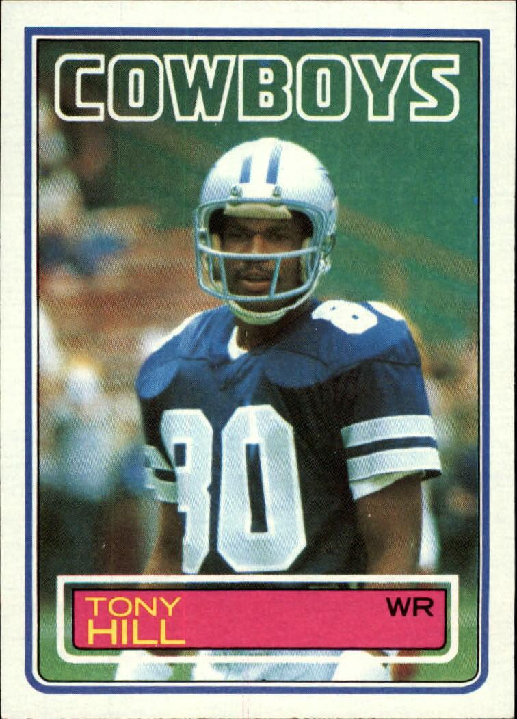 1983 Topps #47 Tony Hill