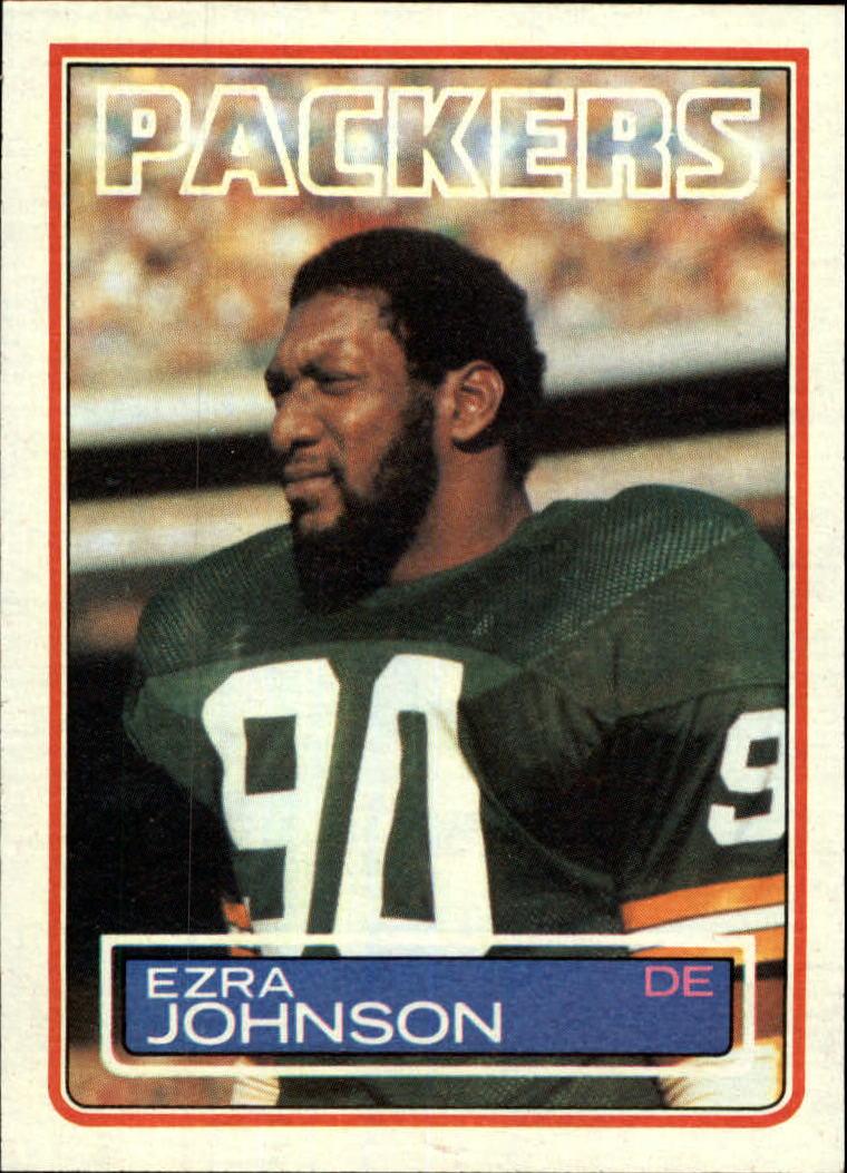 1983 Topps #81 Ezra Johnson