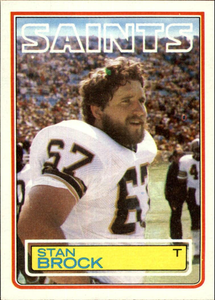 1983 Topps #110 Stan Brock RC
