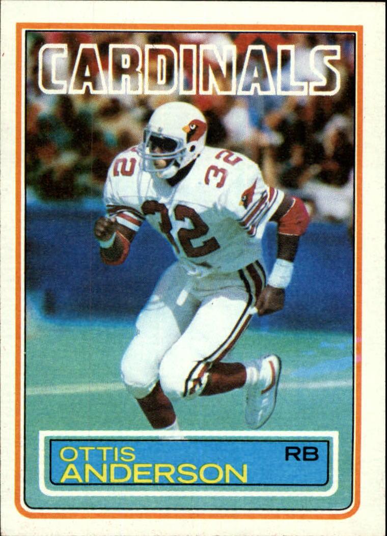 1983 Topps #153 Ottis Anderson